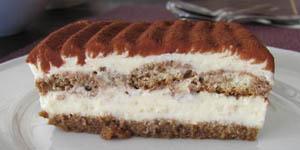 Gateau biscuit cuillere mascarpone chocolat